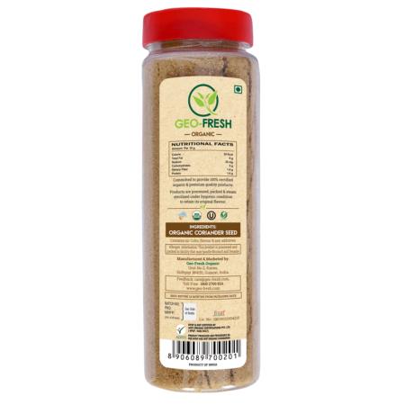 Organic-Coriander-Powder-150g-Back