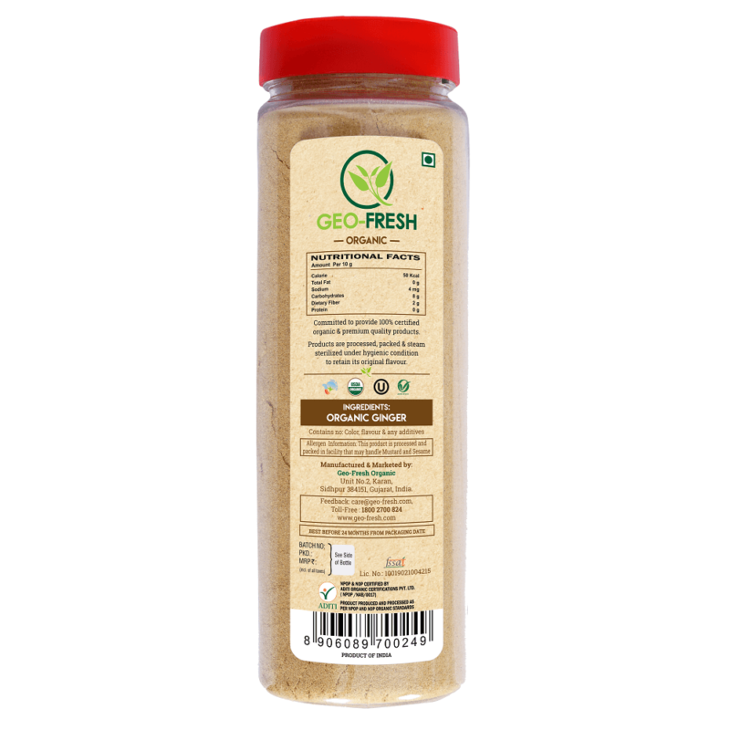 Organic-Ginger-Powder-160g-Back