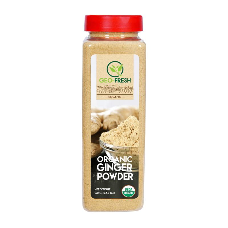 Organic-Ginger-Powder-160g-Front