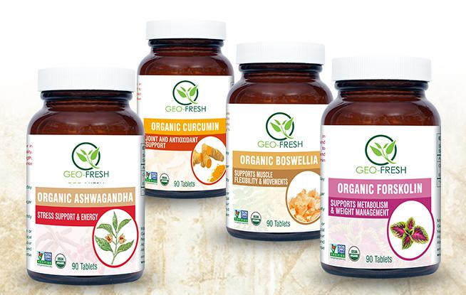 Organic Herbal Dietary Supplement